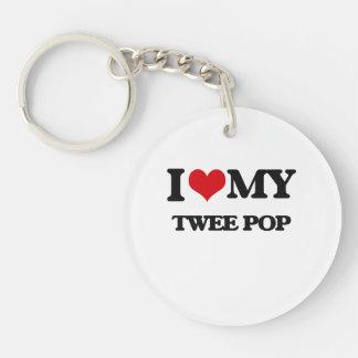 I Love My TWEE POP Keychains