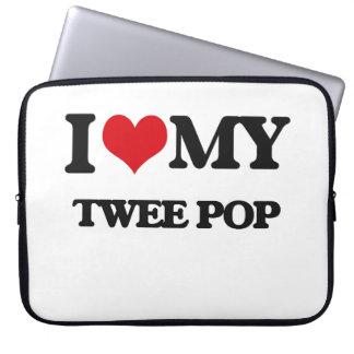 I Love My TWEE POP Computer Sleeves
