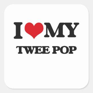 I Love My TWEE POP Sticker