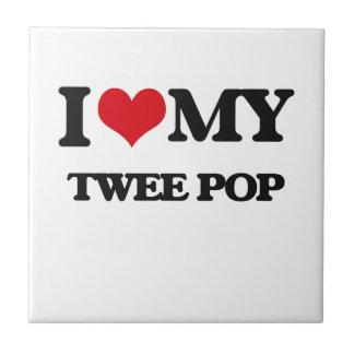I Love My TWEE POP Ceramic Tiles