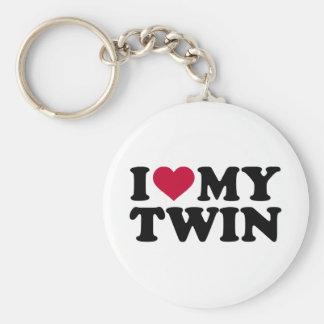 I love my twin keychain