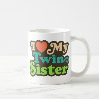 I Love My Twin Sister Coffee Mug