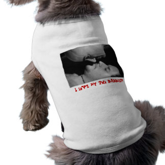 I Love my Two Daddies Sleeveless Dog Shirt