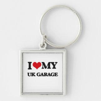I Love My UK GARAGE Keychains