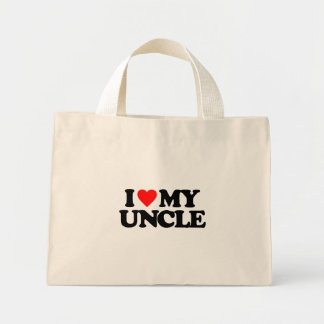 I LOVE MY UNCLE CANVAS BAG