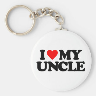 I LOVE MY UNCLE KEY CHAINS