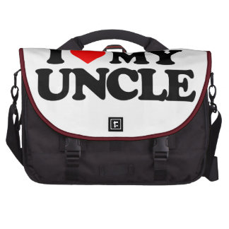 I LOVE MY UNCLE COMMUTER BAG