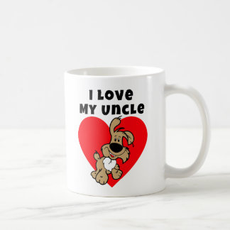 I Love My Uncle - Puppy Valentine's Day Mug