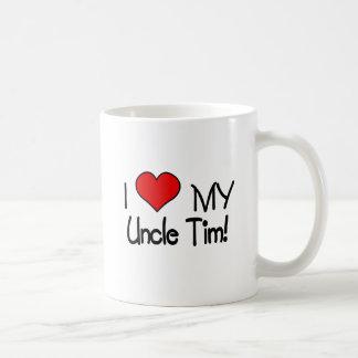 I Love My Uncle Tim Mugs