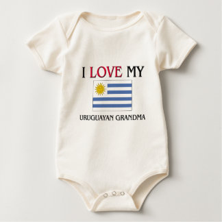 I Love My Uruguayan Grandma Baby Bodysuit