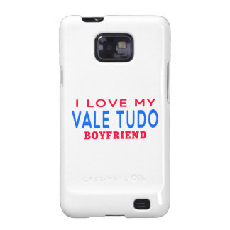 I Love My Vale Tudo Boyfriend Samsung Galaxy SII Case