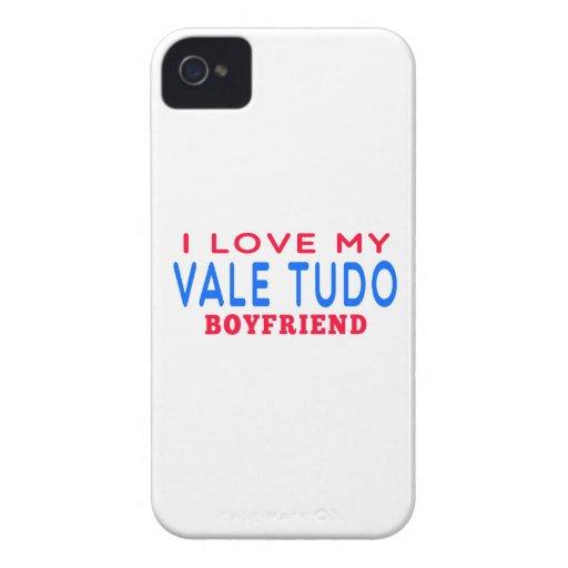 I Love My Vale Tudo Boyfriend iPhone 4 Cases