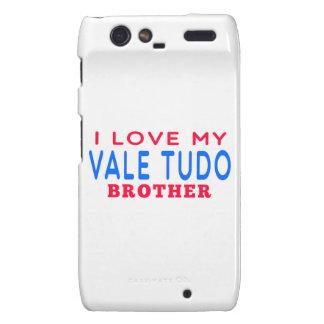I Love My Vale Tudo Brother Motorola Droid RAZR Cases