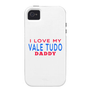 I Love My Vale Tudo Daddy iPhone 4/4S Cover