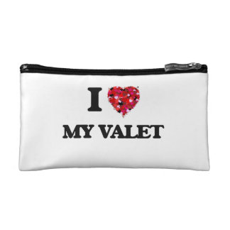 I love My Valet Cosmetic Bags