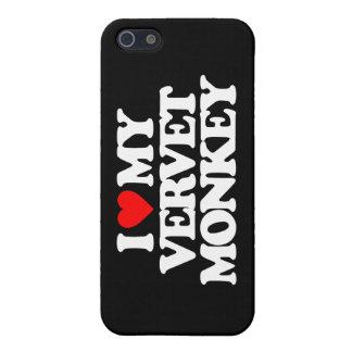 I LOVE MY VERVET MONKEY iPhone 5/5S COVER