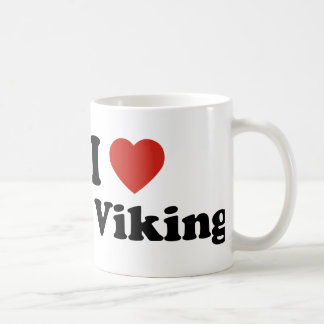 I Love My Viking Coffee Mug