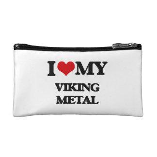 I Love My VIKING METAL Makeup Bag