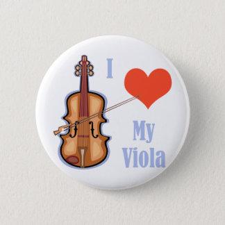 I Love My Viola 6 Cm Round Badge
