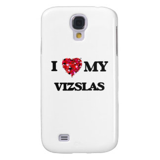 I love my Vizsla Galaxy S4 Case