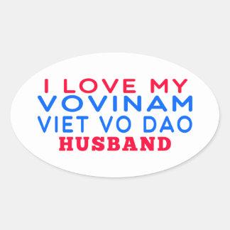 I Love My Vovinam Viet vo Dao Husband Sticker