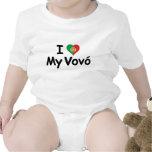 I Love My Vovo (Grandma) Tshirt