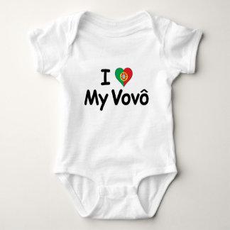 I Love My Vovo (Grandpa) Tshirt