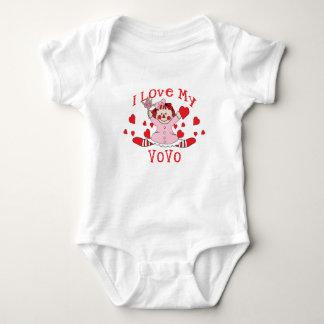 I love My VoVo Rag Doll & Hearts Tshirts