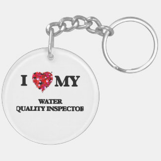 I love my Water Quality Inspector Double-Sided Round Acrylic Key Ring