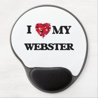 I Love MY Webster Gel Mouse Pad