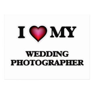 I love my Wedding Photographer Postcard
