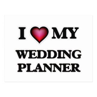 I love my Wedding Planner Postcard