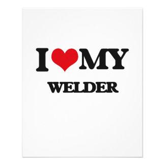 I love my Welder Full Color Flyer