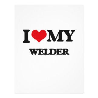 I love my Welder 21.5 Cm X 28 Cm Flyer