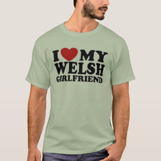 I Love My Welsh Girlfriend T-Shirt