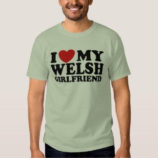 I Love My Welsh Girlfriend Tshirts