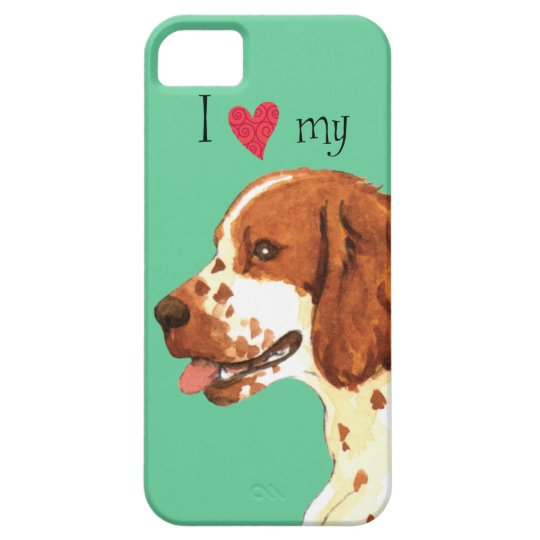 I Love my Welsh Springer Spaniel iPhone 5 Covers