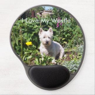 I Love My Westie Gel Mousemat