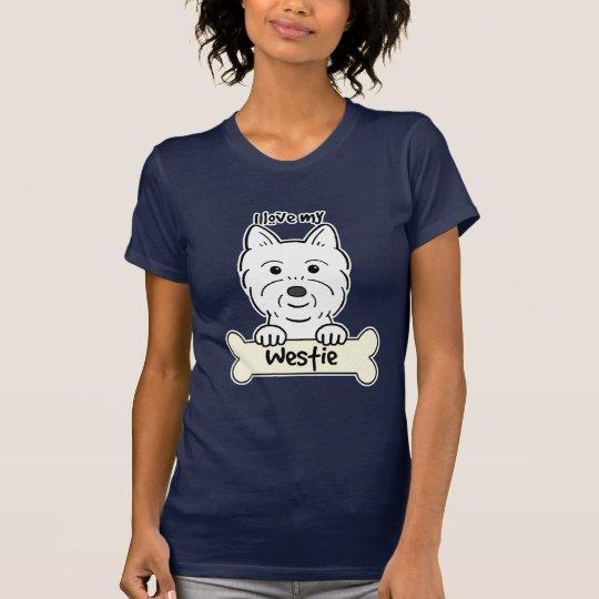 I Love My Westie T-Shirt