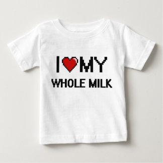 I Love My Whole Milk Digital design Tshirts