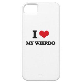 I love My Wierdo iPhone 5 Cases