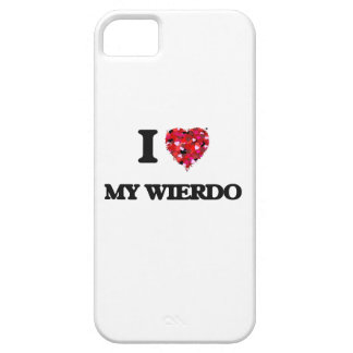 I love My Wierdo Barely There iPhone 5 Case