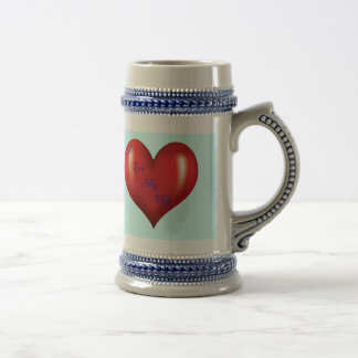 I Love My Wife Beer Steins