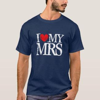 I love my wife shirt for husband | i heart my mrs