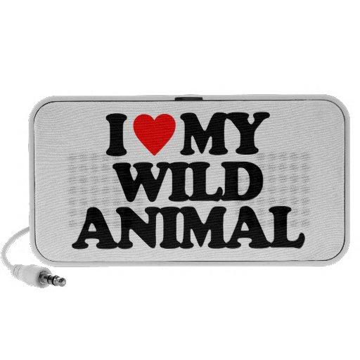 I LOVE MY WILD ANIMAL SPEAKERS