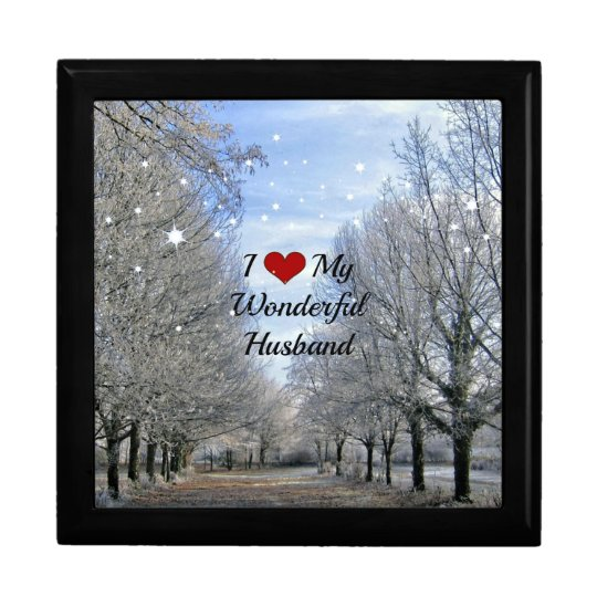 I Love My Wonderful Husband - Snowy Winter