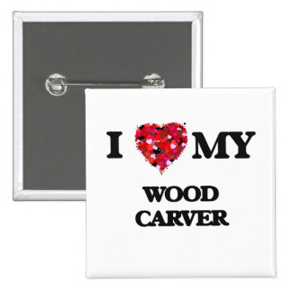 I love my Wood Carver 2 Inch Square Button