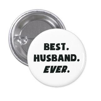 I Love My Worlds Best Husband Ever 3 Cm Round Badge