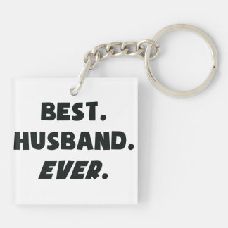 I Love My Worlds Best Husband Ever Key Ring
