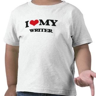 I love my Writer Tee Shirts